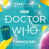 [Image for Doctor Who Comics Day 2020 is announced!]