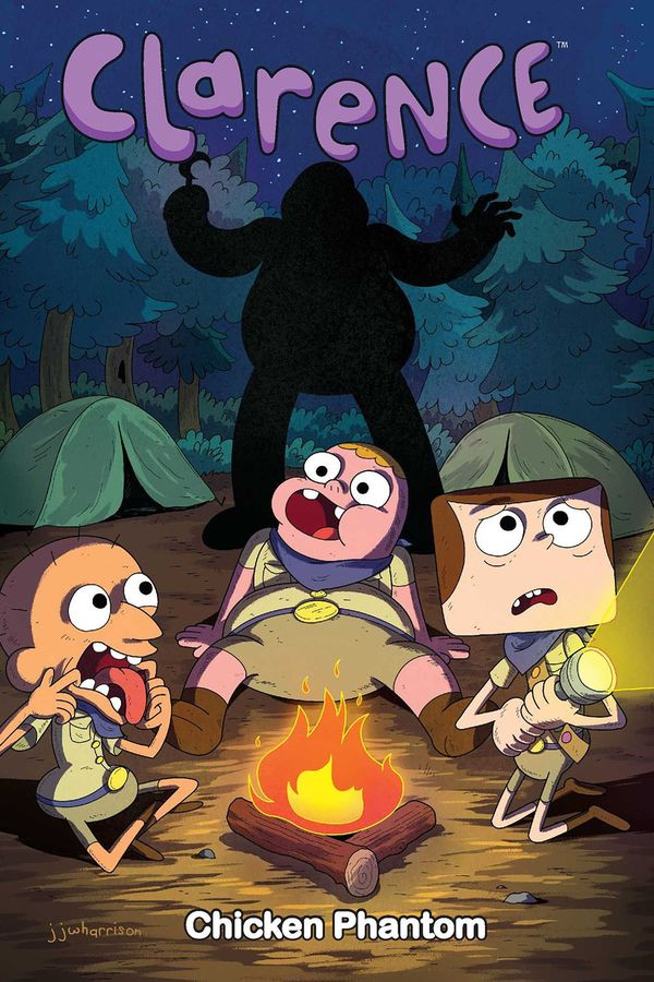 [Cover Art image for Clarence: Chicken Phantom]