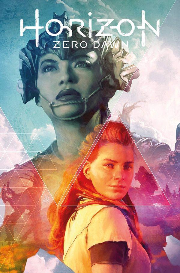 [Cover Art image for Horizon Zero Dawn Vol. 1: The Sunhawk]