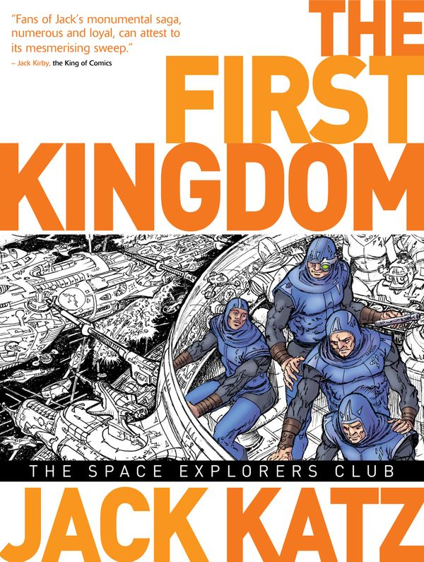 [Cover Art image for The First Kingdom Vol. 5: The Space Explorers Club]