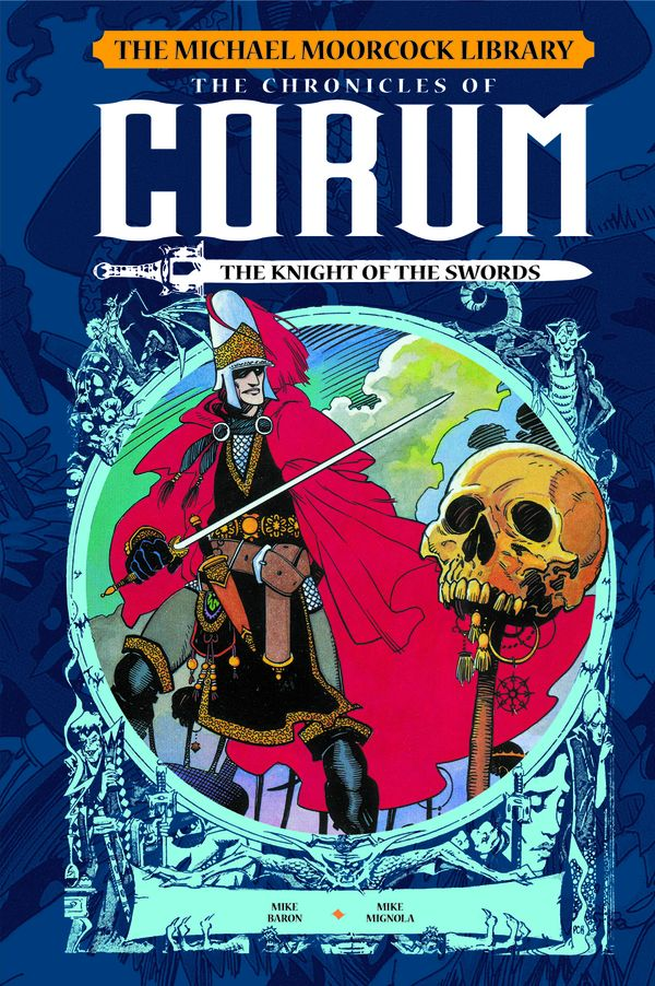[Cover Art image for The Michael Moorcock Library: The Chronicles of Corum Vol. 1: The Knight of Swords]