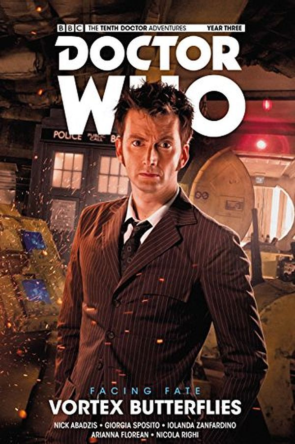 [Cover Art image for Doctor Who: The Tenth Doctor: Facing Fate - Volume 2: Vortex Butterflies]