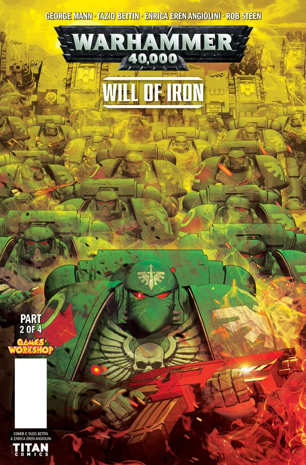 [Cover Art image for Warhammer 40,000: Will of Iron]