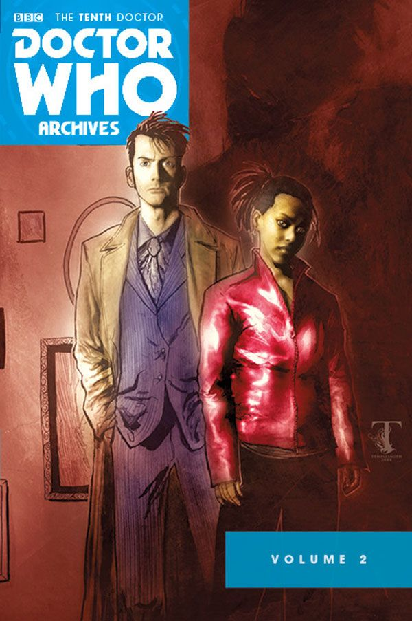 [Cover Art image for Doctor Who: The Tenth Doctor Archives Omnibus]
