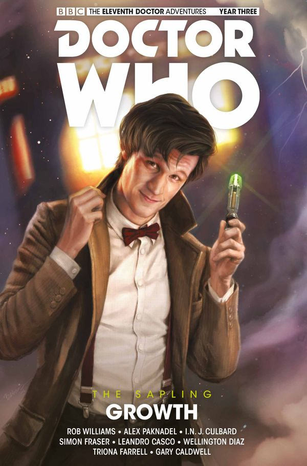 [Cover Art image for Doctor Who: The Eleventh Doctor: The Sapling Vol. 1: Growth]