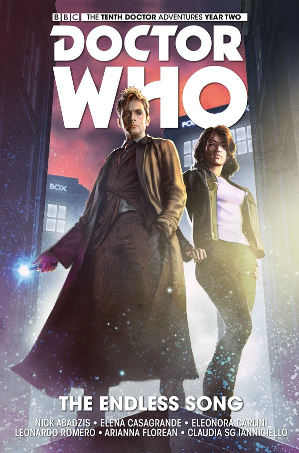[Cover Art image for Doctor Who: The Tenth Doctor SC]