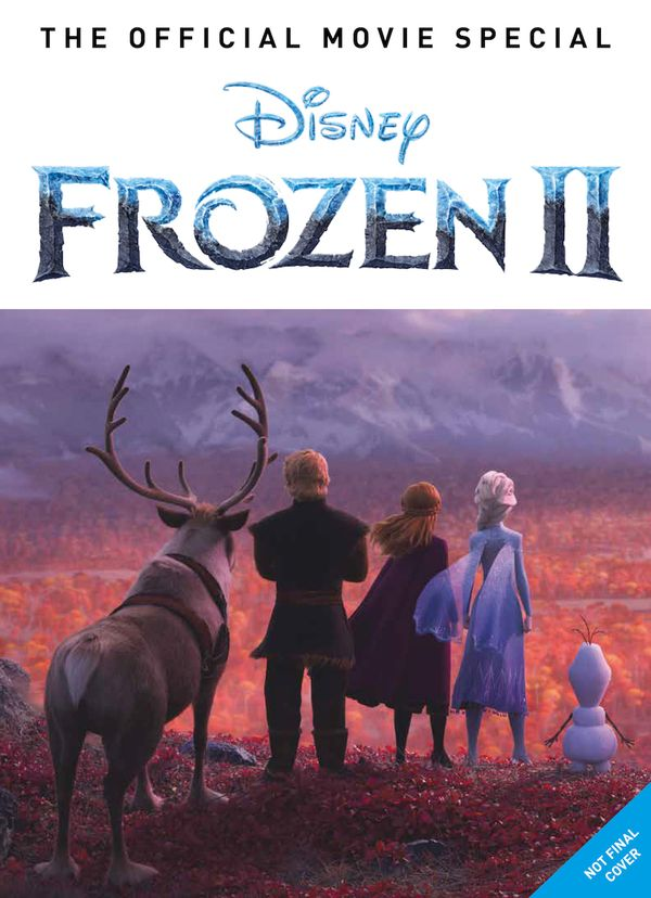 [Cover Art image for Frozen 2: The Official Movie Special Book]
