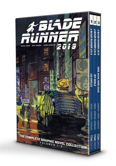 2019 Blade Runner 2019 NM #3 Michael Green Black and White Variant Titan