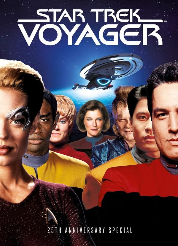 [Cover Art image for Star Trek Voyager: 25th Anniversary Special Book]