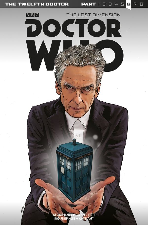 [Cover Art image for Doctor Who: Twelfth Doctor The Lost Dimension, Part 6]