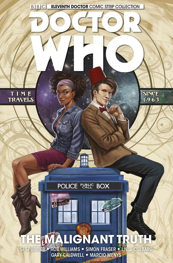 [Cover Art image for Doctor Who: The Eleventh Doctor Vol. 6: The Malignant Truth]