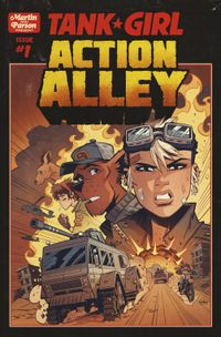 [Image for FREE COMIC: Issue #1 of Tank Girl Action Alley!]