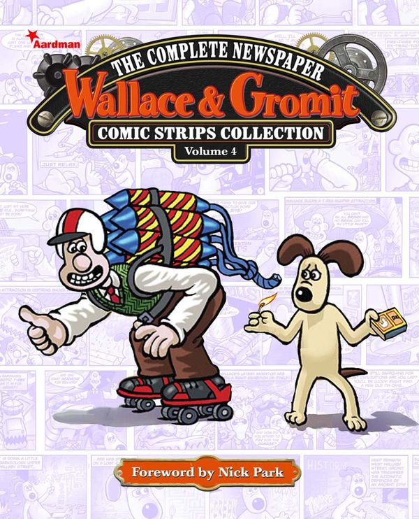 [Cover Art image for Wallace & Gromit: The Complete Newspaper Strips Collection]