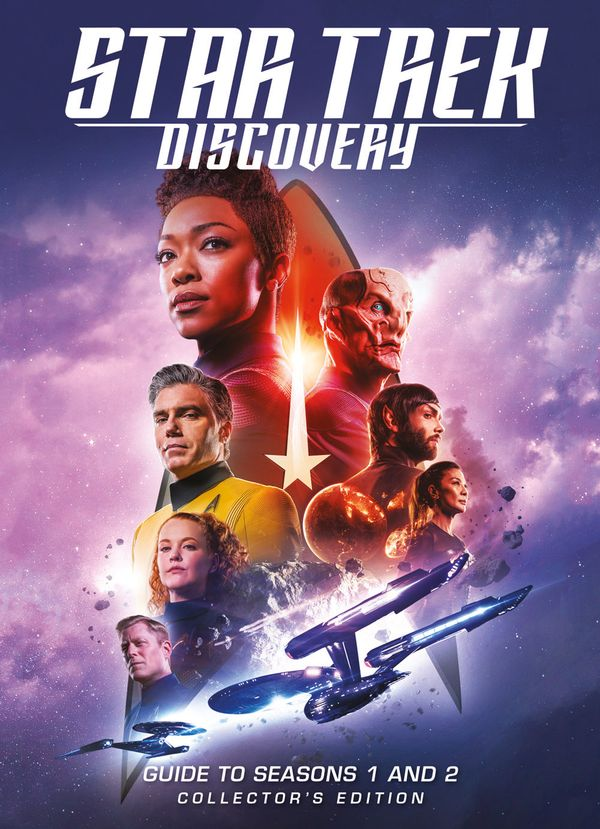 [Cover Art image for Star Trek Discovery: Guide to Seasons 1 and 2 Collector's Edition Book]