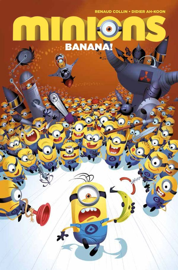[Cover Art image for Minions: Banana]