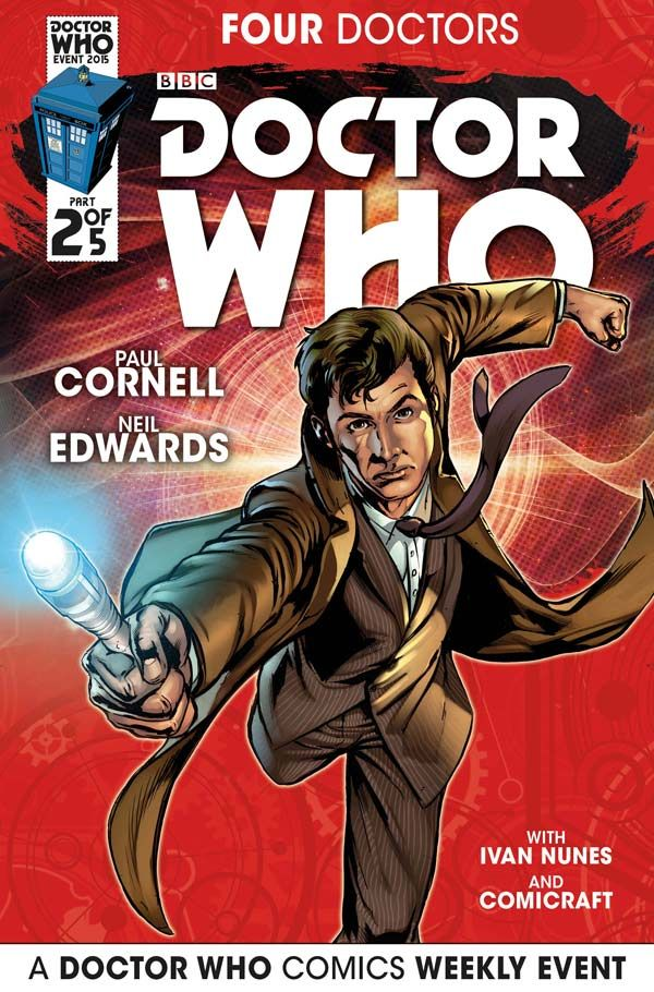 [Cover Art image for Doctor Who: 2015 Event]
