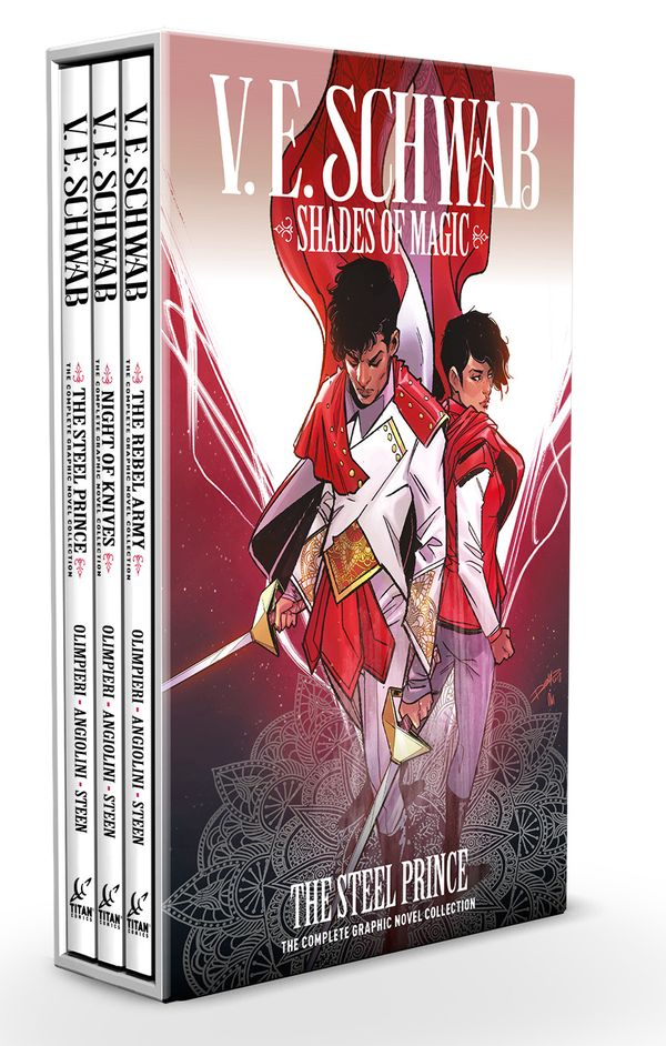 [Cover Art image for Shades of Magic: The Steel Prince: 1-3 Boxed Set]