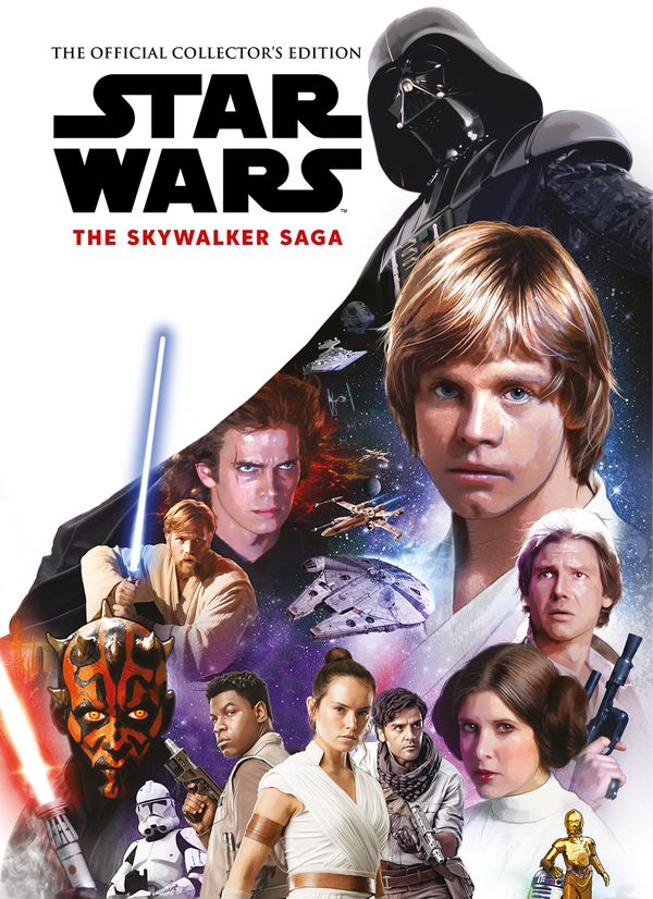 [Cover Art image for Star Wars: The Skywalker Saga The Official Collector's Edition Book]