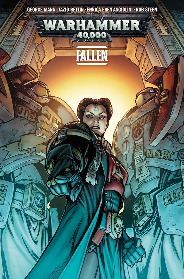 [Cover Art image for Warhammer 40,000 Vol. 3: Fallen]