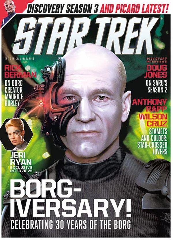 [Cover Art image for Star Trek Magazine #71]