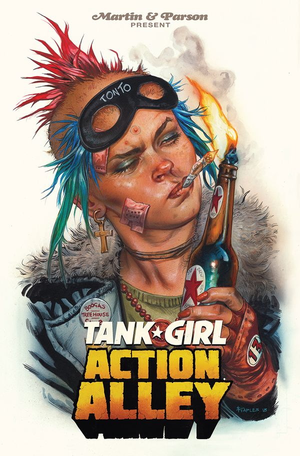 [Cover Art image for Tank Girl Vol. 1: Action Alley]
