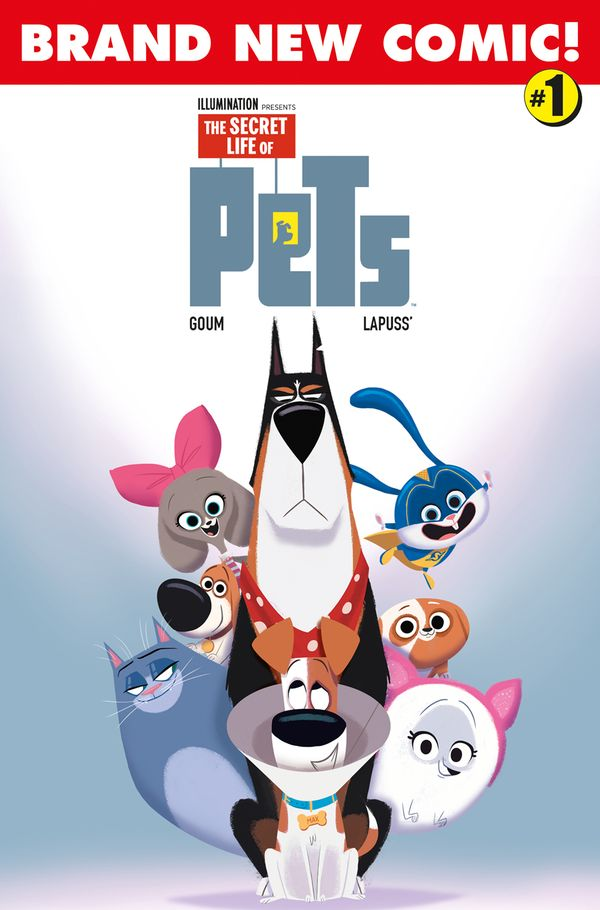 [Cover Art image for Secret Life of Pets 2]
