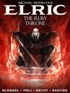 [The cover image for Michael Moorcock's Elric Vol. 1: The Ruby Throne]