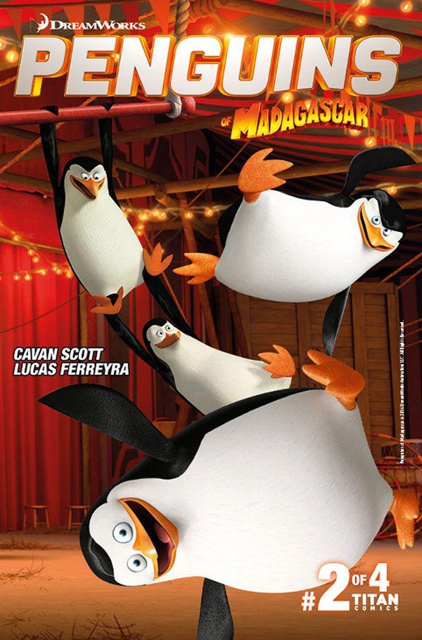 [Cover Art image for Penguins of Madagascar: The Elite-est of The Elite]