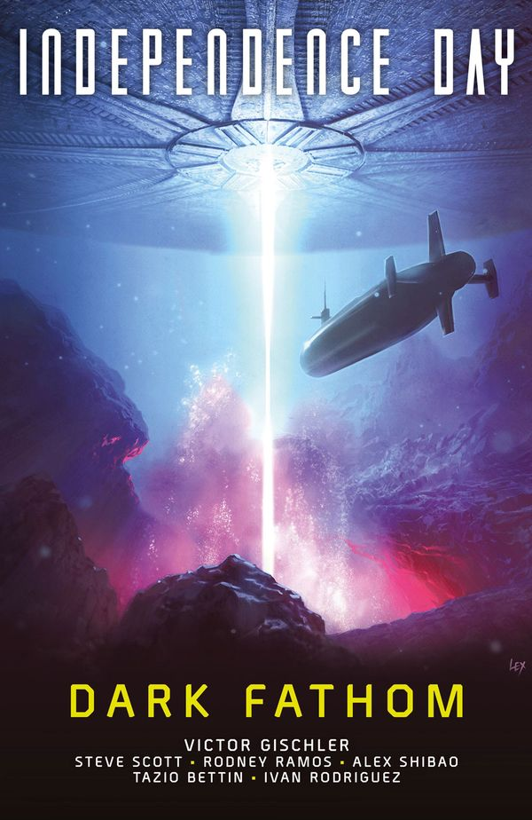 [Cover Art image for Independence Day: Dark Fathom]