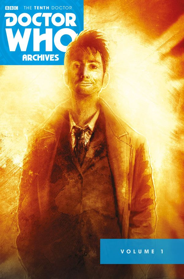 [Cover Art image for Doctor Who Archives: The Tenth Doctor Vol. 1]