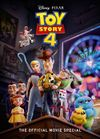 [The cover image for Toy Story 4: The Official Movie Special Book]