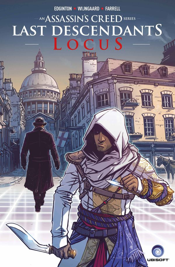 [Cover Art image for Assassin's Creed: Last Descendants: Locus Scholastic Edition]