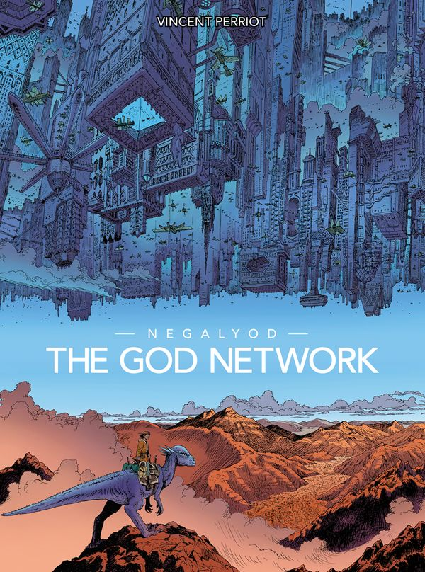 [Cover Art image for Negalyod: The God Network]