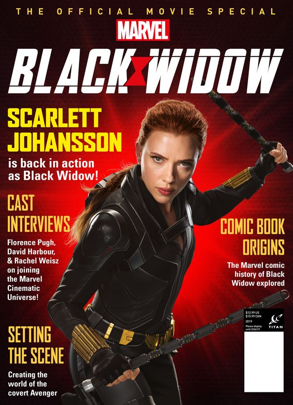 [Cover Art image for Black Widow: The Official Movie Special]